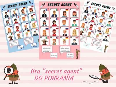 "Gra ""secret agent"""